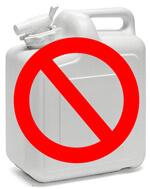 Wasser von Zuhause aus zum Schrebergarten mitzunehmen ist keine Option!